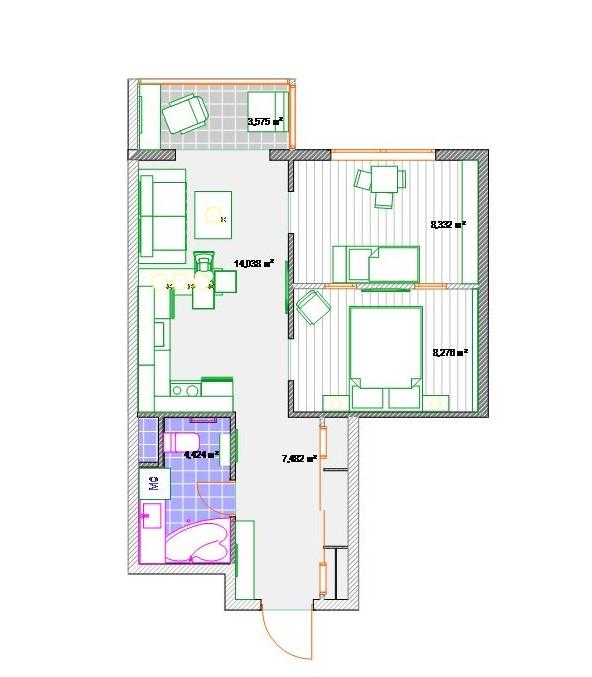 Переделкино ближнее-1 план мебели